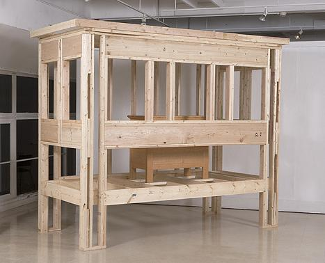 Dowry Framing lumber, #16 sinkers, quartersawn red oak (interior chest)